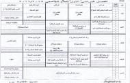 جداول الفصل الدراسي الاول لعام 2015/2016